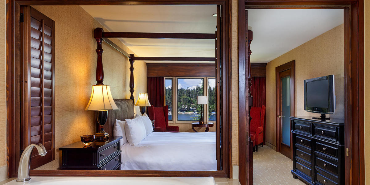 Accommodations at Lake Arrowhead Resort